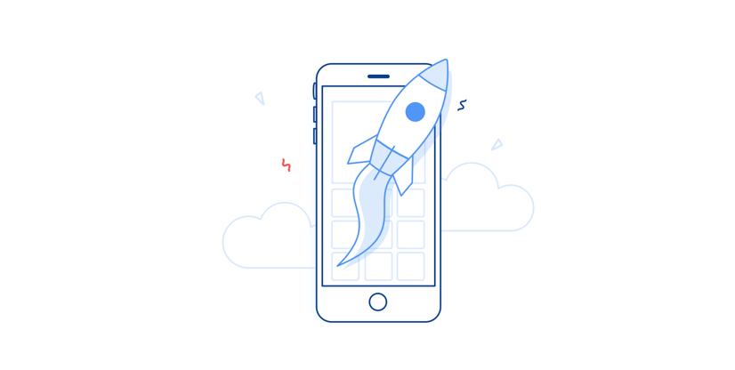 Illustration: app launch