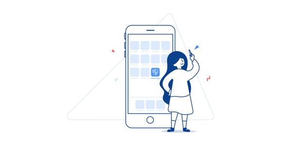 Illustration: school app