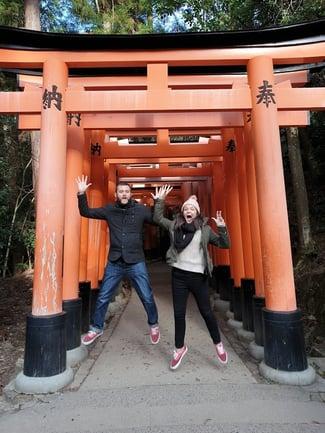 Patrick in Japan