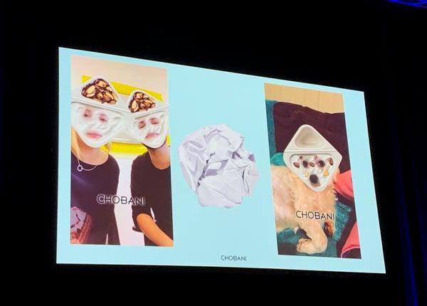 Image: Chobani presentation slide