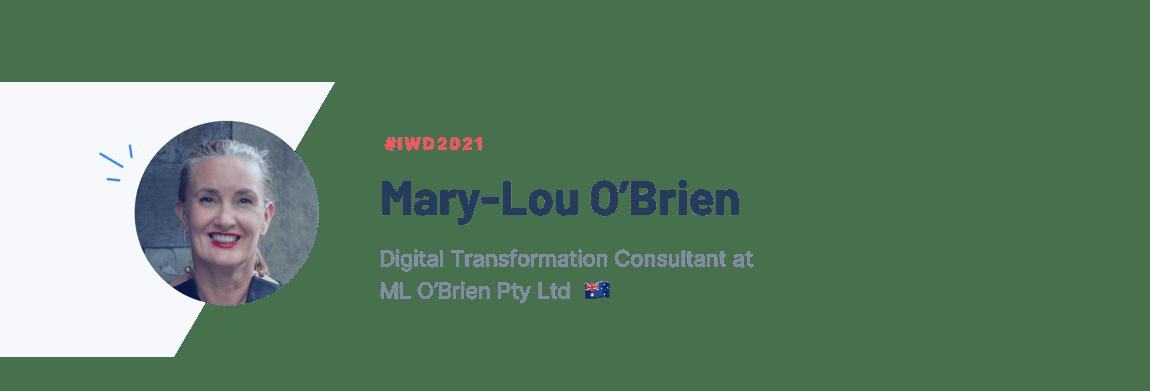 Image: Mary-Lou O'Brien