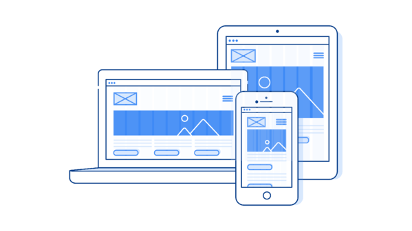 Illustration: Responsive Website