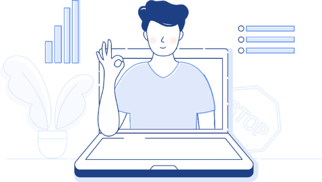 Online teaching with computers