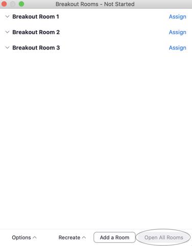 Open Breakout Rooms