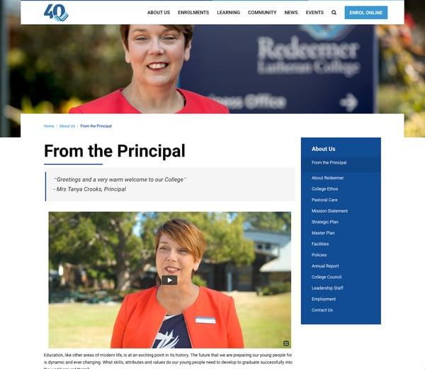 Should Your school website contain video?
