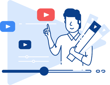 Illustration: Video marketing