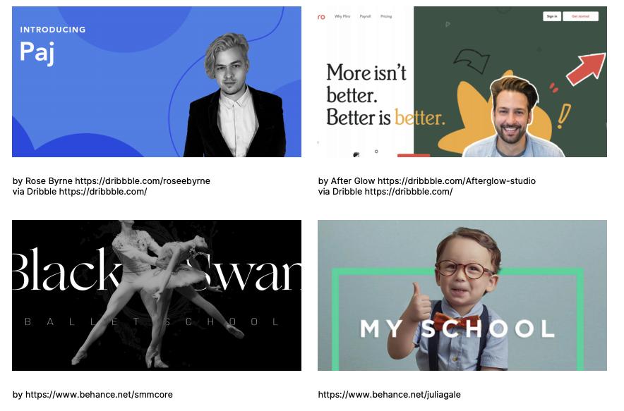 website-design-typography