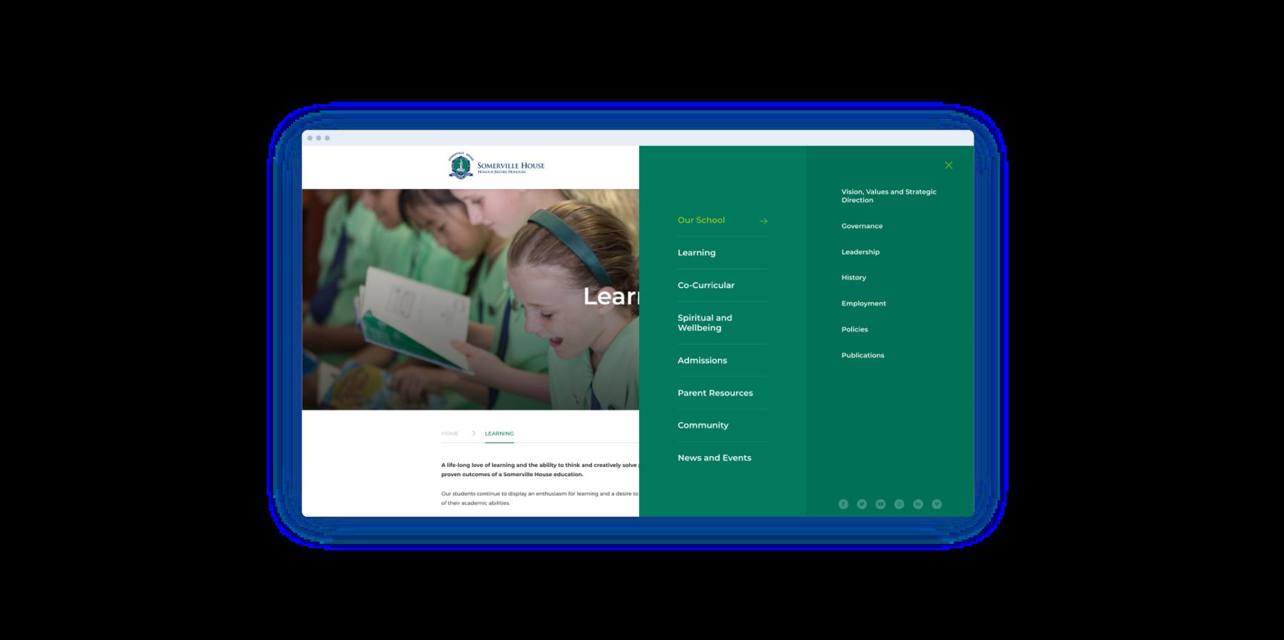 Image: Somerville House school website